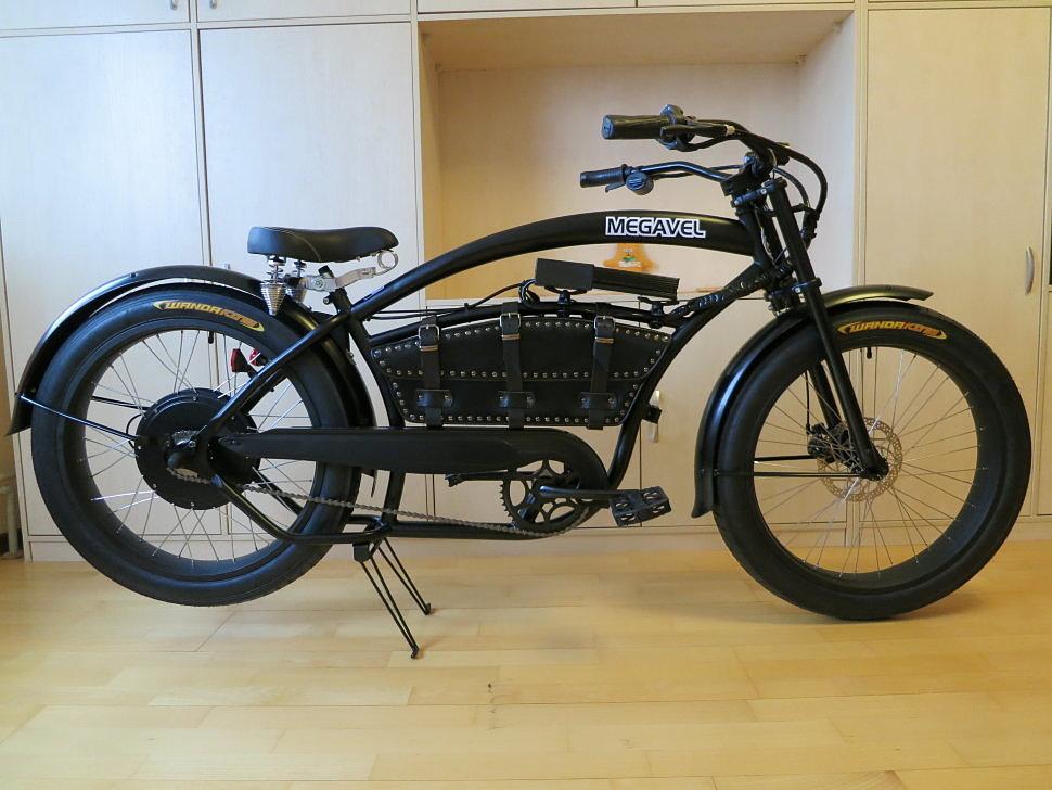 Электро велочоппер
